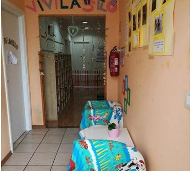 Accoglienza e ingresso verso il salone
